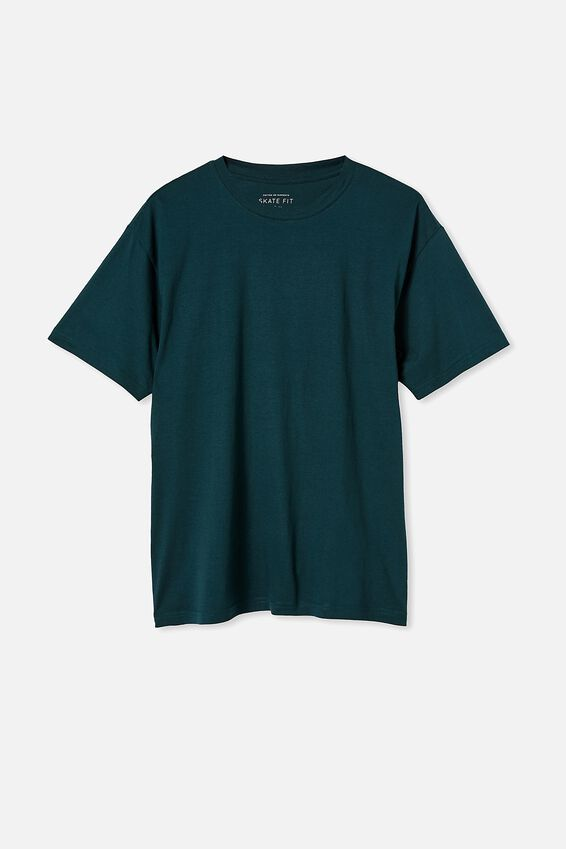 Essential Skate T-Shirt, DEEP SEA TEAL