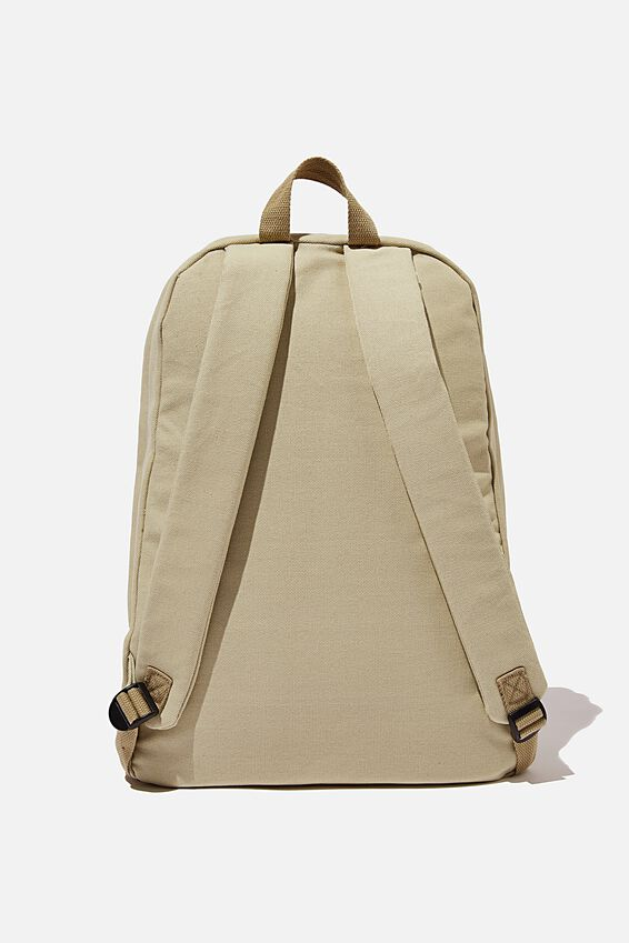 Brunswick Backpack, STONE CANVAS