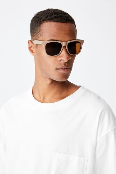 Beckley Sunglasses, MATTE TAN/BROWN