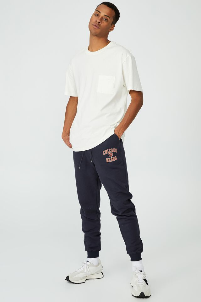 Active Nfl Trackpant, LCN NFL TRUE NAVY / CHICAGO BEARS