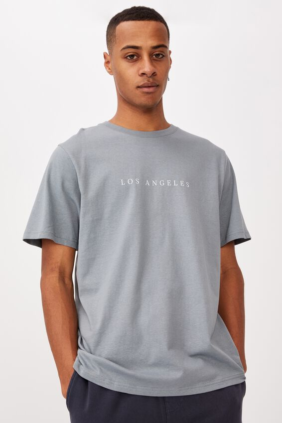 Tbar Text T-Shirt, CITADEL/LOS ANGELES SPACED