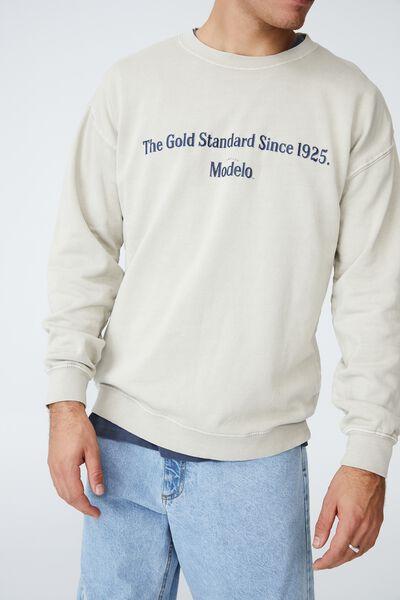 Modelo Crew Fleece, LCN MOD IVORY/MODELO - GOLD STANDARD