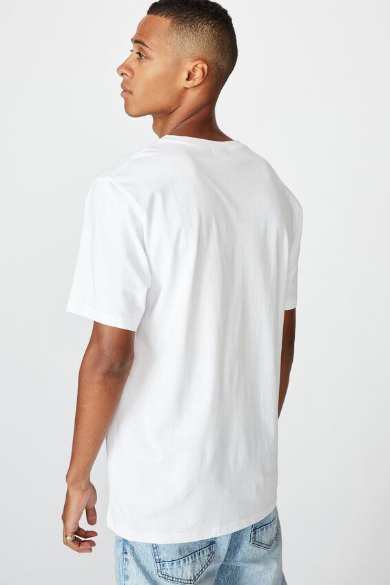 Tbar Collab Movie And Tv T-Shirt, LCN MTV WHITE/BEAVIS AND BUTTHEAD - CORNHOLIO