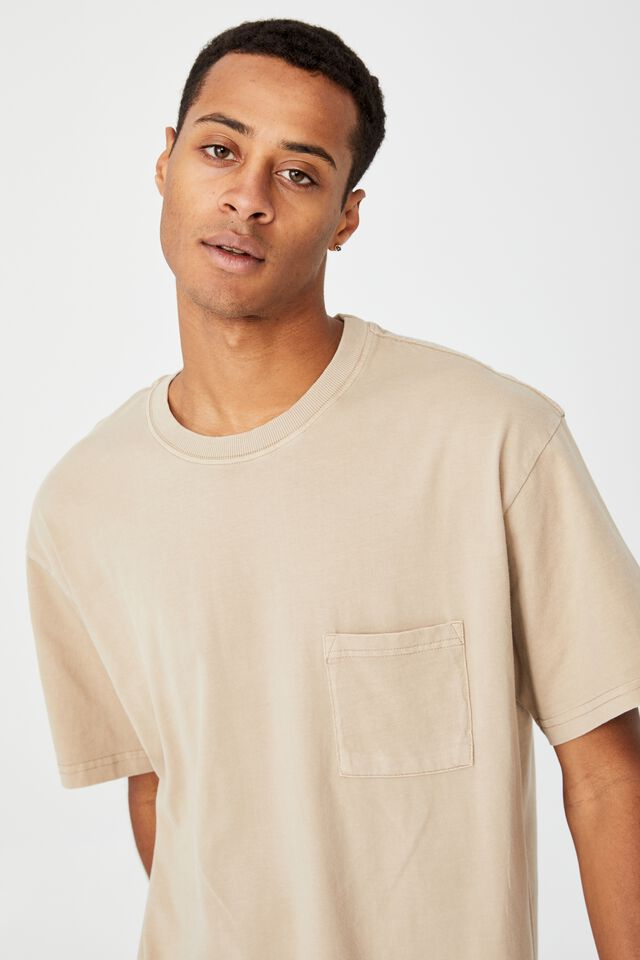 Loose Fit T-Shirt, GRAVEL STONE