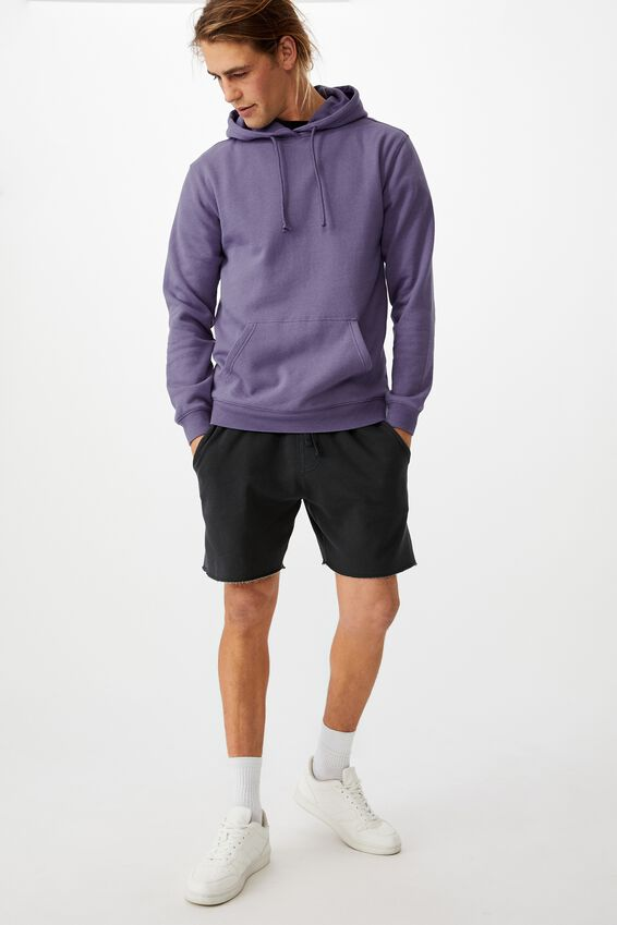 Essential Fleece Pullover, PURPLE DREAM