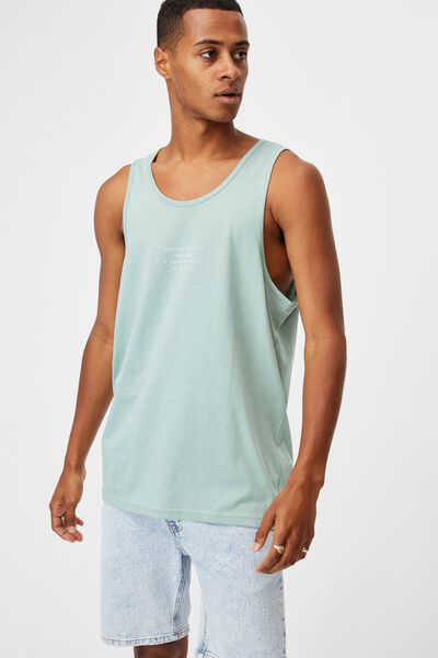 Tbar Tank, WASHED TEAL/E SIDE DISTRICT