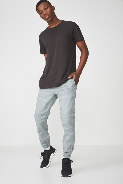 Urban Jogger, DUSTY BLUE PATCH POCKET