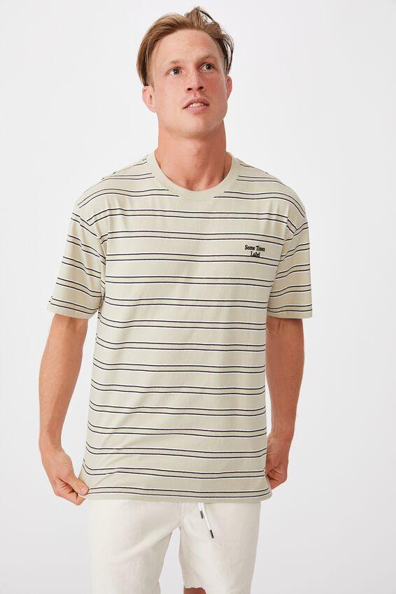 Dylan T-Shirt, SOME TIMES PALE SAND STRIPE