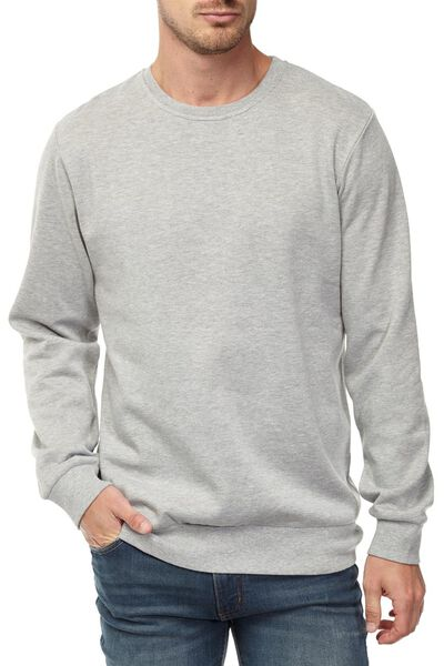 Crew Fleece 2, GREY MARLE