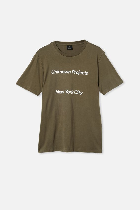 Tbar Street T-Shirt, MILITARY/UNKNOWN PROJECTS SPACED
