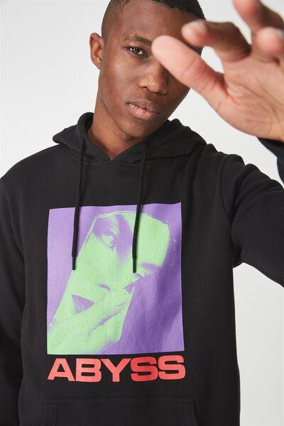 Fleece Pullover 2, BLACK/ABYSS