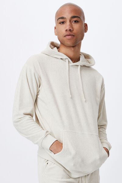 French Terry Pullover, ECRU