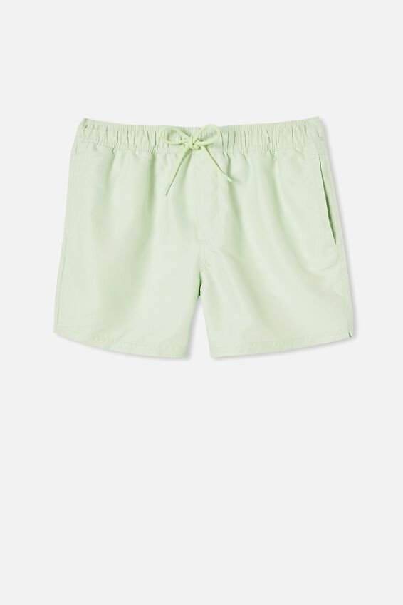 Swim Short, SOLID LIME
