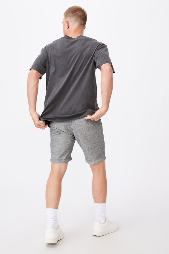 Tailored Casual Short, KHAKI TEXTURE