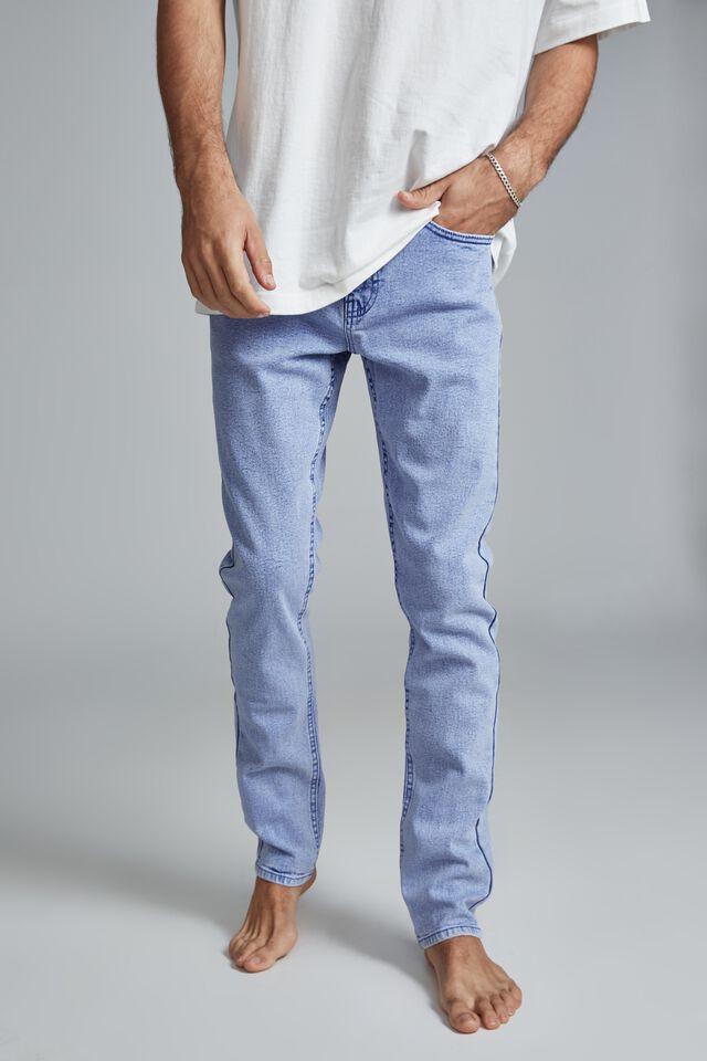Slim Fit Jean, TOUR BLUE