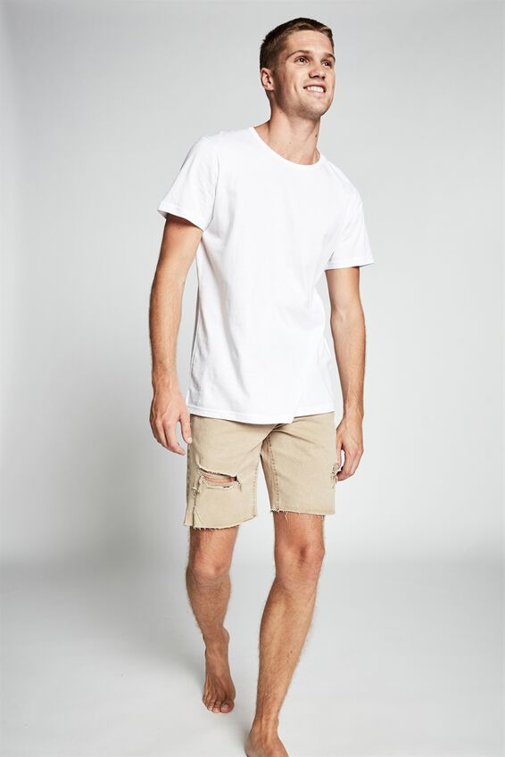 Straight Short, TAUPE + RIPS