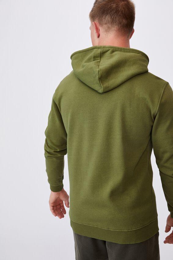 Essential Fleece Pullover, GRASS GREEN
