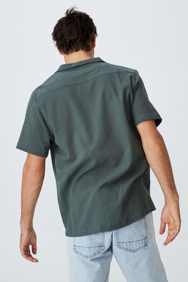 Riviera Short Sleeve Shirt, FOREST