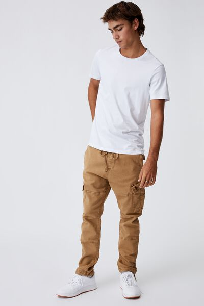 Military Cargo Pant, WASHED RUST