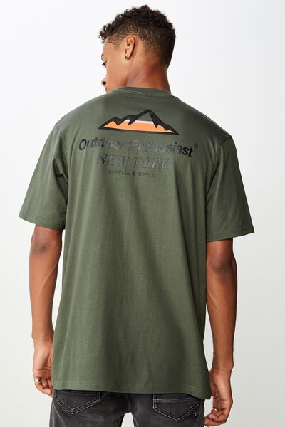Tbar Sport T-Shirt, FROSTED KHAKI/OUTDOOR ENTHUSIAST