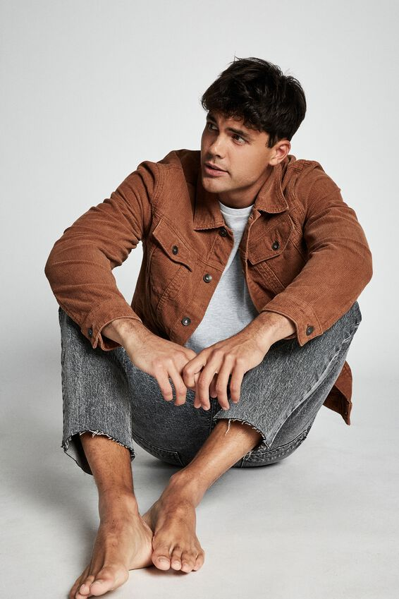 Rodeo Jacket, RUST CORD