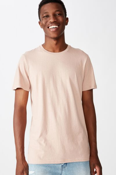 Essential Crew Tee, DIRTY PINK