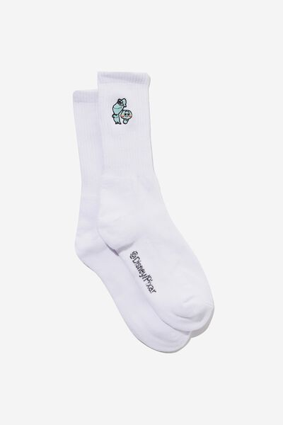 Special Edition Active Sock, LCN DIS WHITE/SOUL