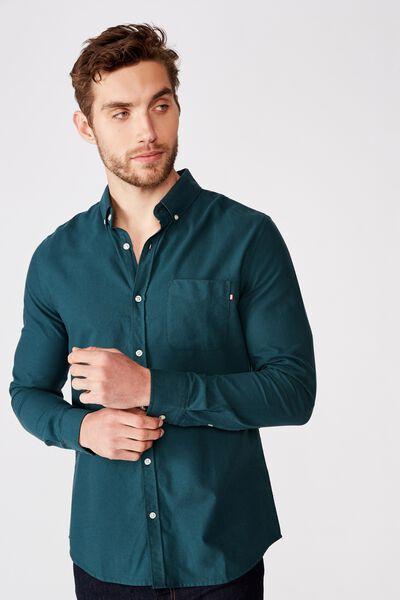 Brunswick Shirt 3, DEEP TEAL