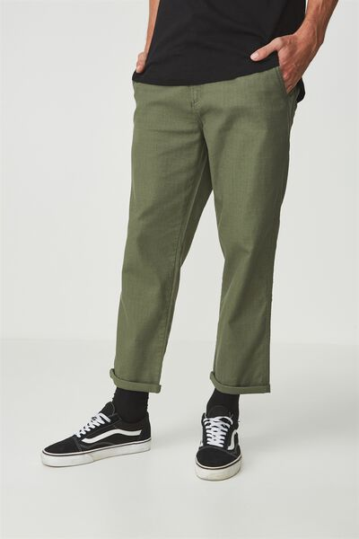 Drake Roller Pant, TEXTURED WASHED KHAKI