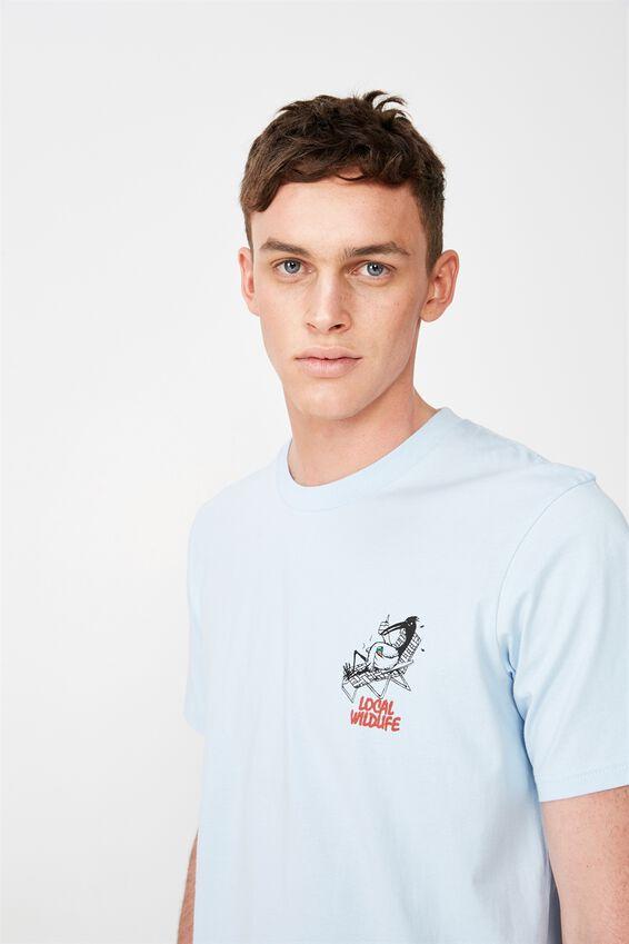 Tbar Art T-Shirt, BLUE MIST/LOCAL IBIS