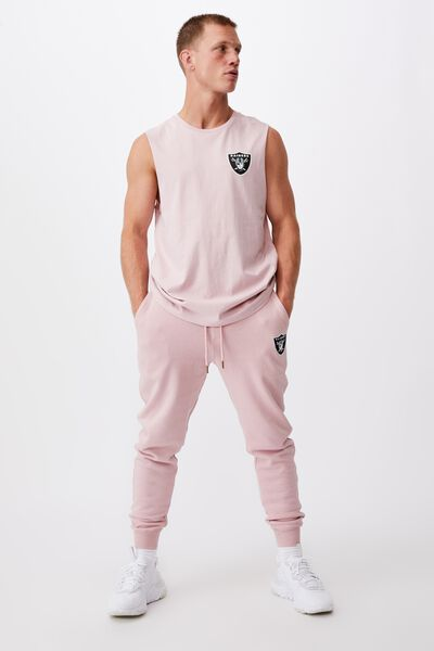 Active Nfl Muscle, LCN NFL DIRTY PINK/RAIDERS-SHIELD