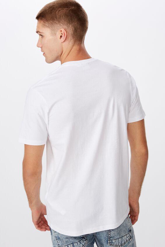 Tbar Art T-Shirt, WHITE/TAPES