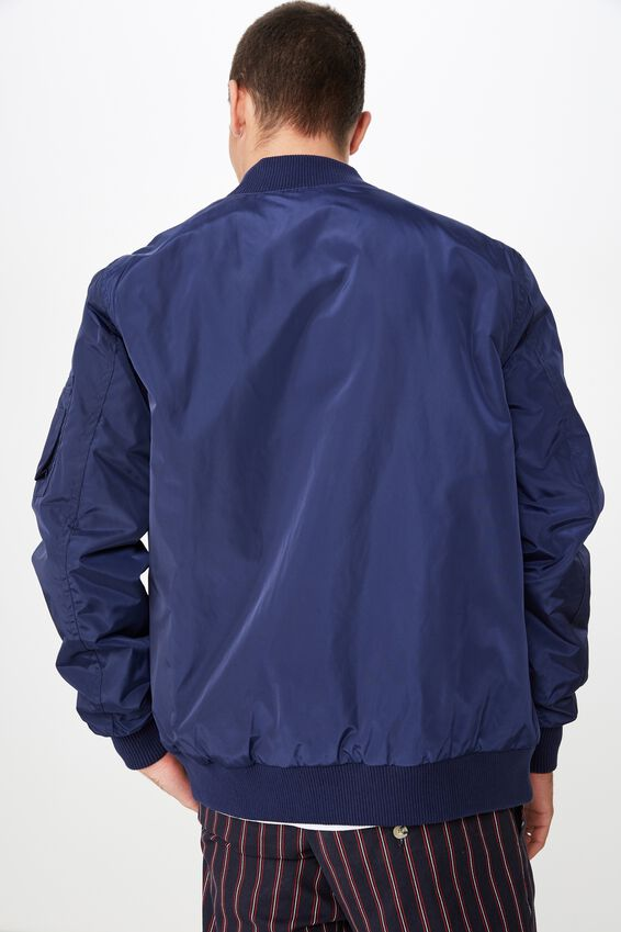 Airforce Bomber Jacket, NAVY