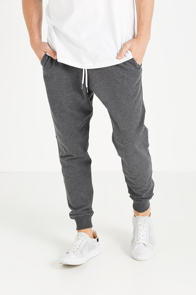 Trippy Slim Trackie, CHARCOAL