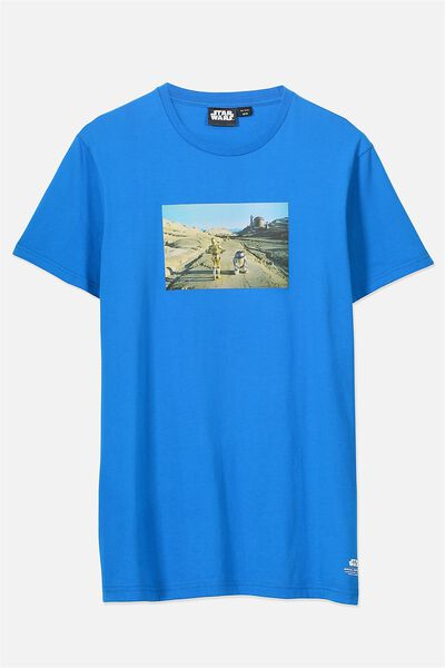 Tbar Collaboration Tee, LC BLUE DELIGHT/RETURN OF THE JEDI