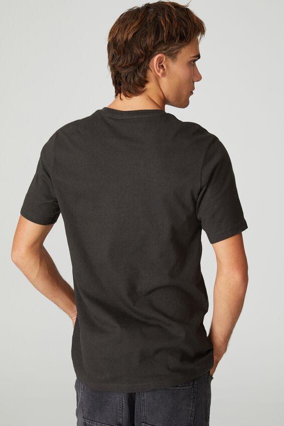Tbar Collab Icon T-Shirt, LCN BRA WASHED BLACK/EMINEM - CAR LEAN