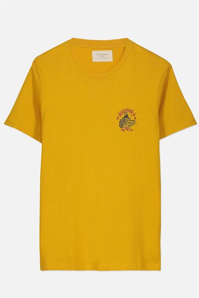 Tbar Tee 2, ARTISAN GOLD/HIGHWAY TO HELL