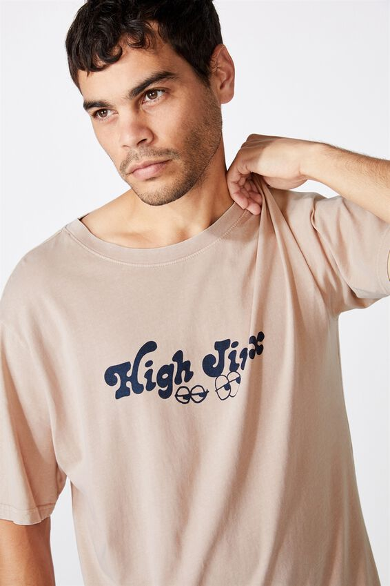 Bondi Tee, SK8 DIRTY PINK/HIGH JINX