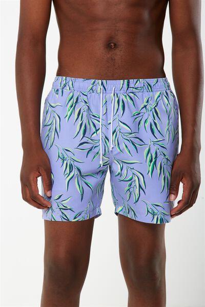 Swim Short, LAVENDER / GUM LEAF