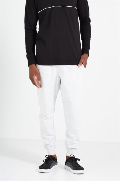 Trippy Slim Trackie, ATHLETIC MARLE