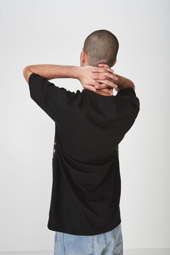 Drop Shoulder Longline, BLACK/VERSION. ONE.