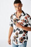 Short Sleeve Resort Shirt, STATEMENT FLORAL