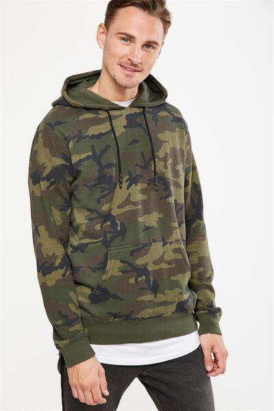 Fleece Pullover 2, NU CAMO