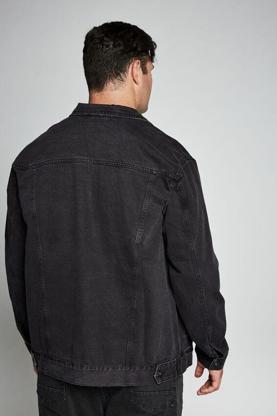 Bg Rodeo Denim Jacket, DISTRESSED BLACK