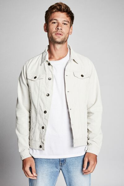 Rodeo Jacket, ECRU CORD
