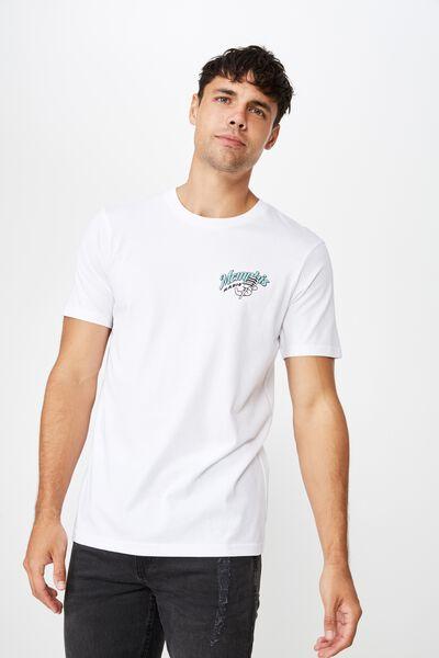 Souvenir T-Shirt, WHITE/MEMPHIS RADIO