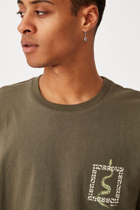 Tbar Art T-Shirt, MILITARY/FIGURE 1A