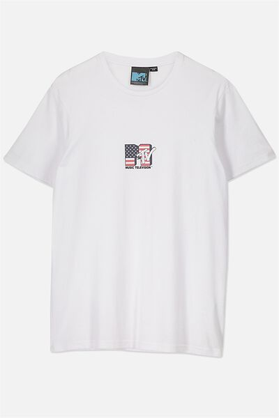 Tbar Collaboration Tee, LC WHITE/MTV SMALL
