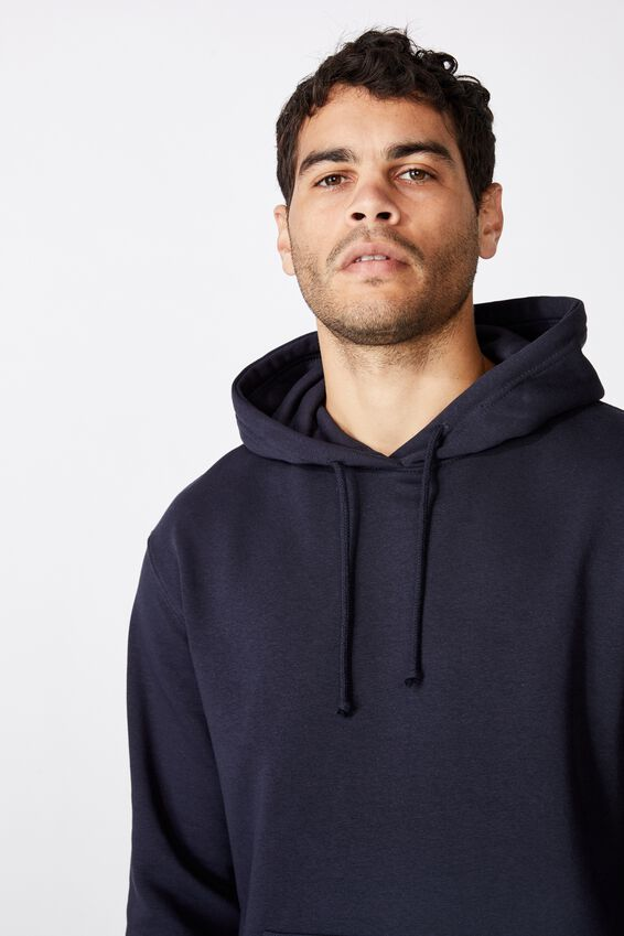 Essential Fleece Pullover, INK NAVY