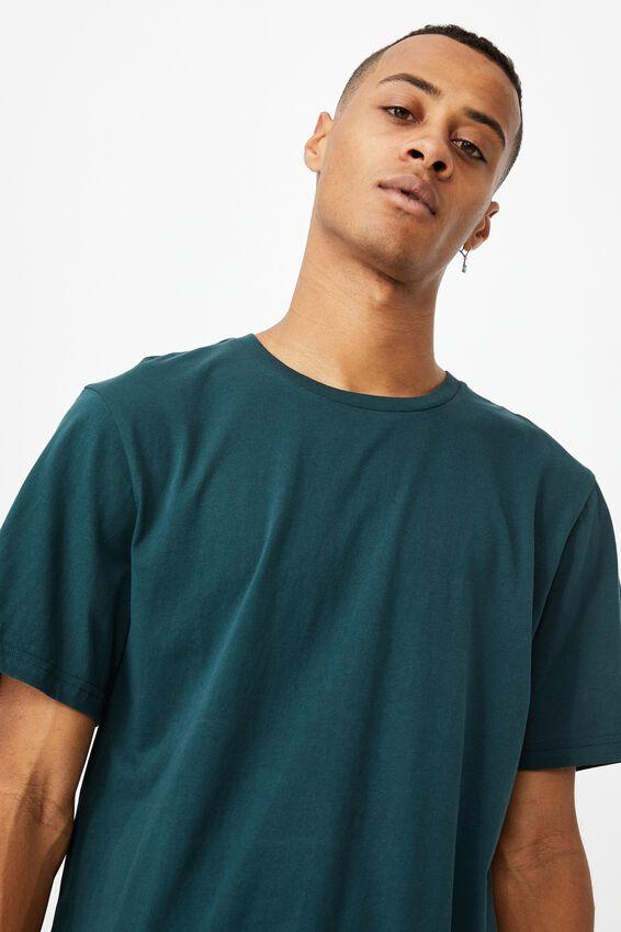 Essential Crew T-Shirt, DEEP SEA TEAL